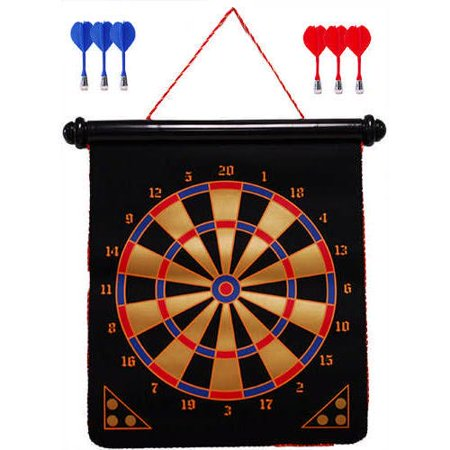 15 Inch Magnetic Dart Board, Classic Games by Go! Games (Magnetic Darts)