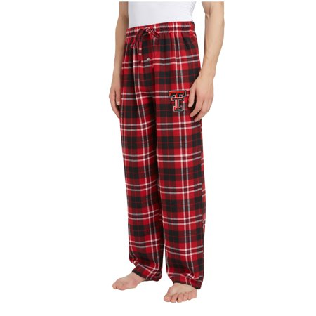 Men's Red/Black Texas Tech Red Raiders Ballot Flannel Lounge Pants Run Omni Tech Pant