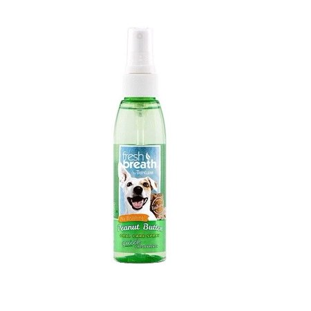 Fresh Breath for Dogs 4 oz Dental Oral Care Spray Healthy Gums - Choose Scent (Peanut