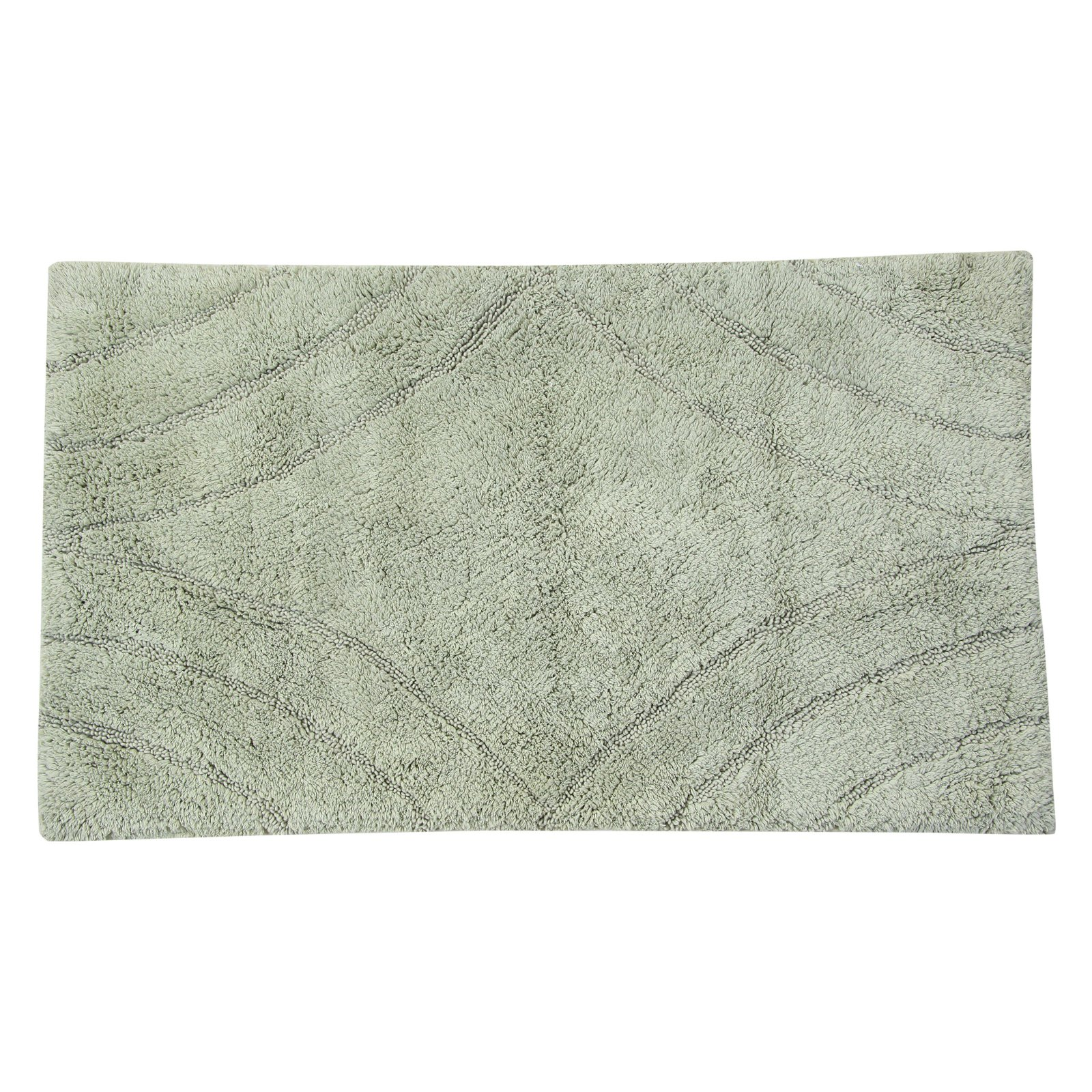 Elegance Collection Diamond Bath Rug