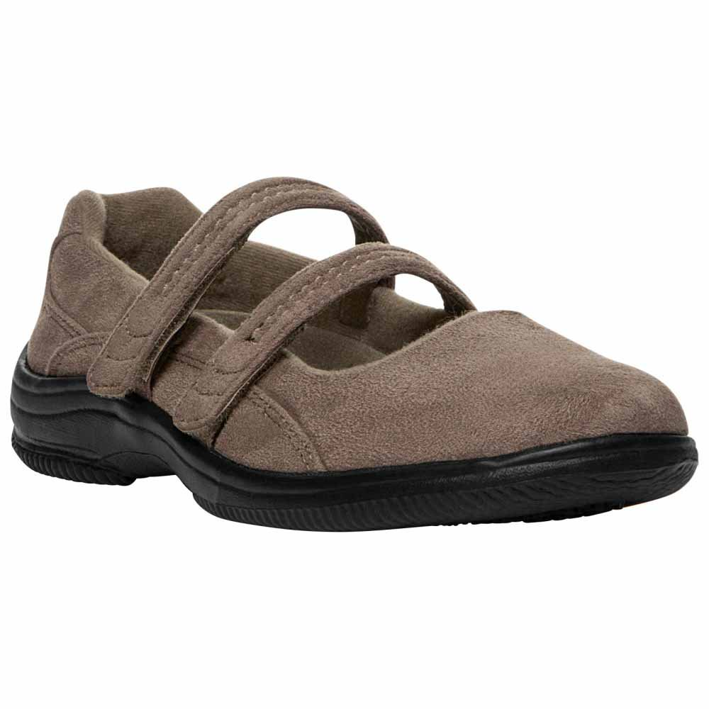 Propet Bilite Casual Women's Taupe Velour by Propet