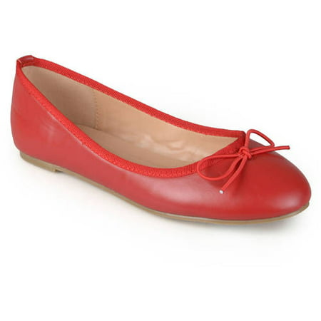 Women's Classic Bow Round Toe Casual Ballet Flats