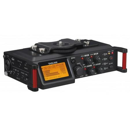 Tascam 4-Channel Linear PCM Audio Portable DSLR Film Recorder/Mixer   DR-70D
