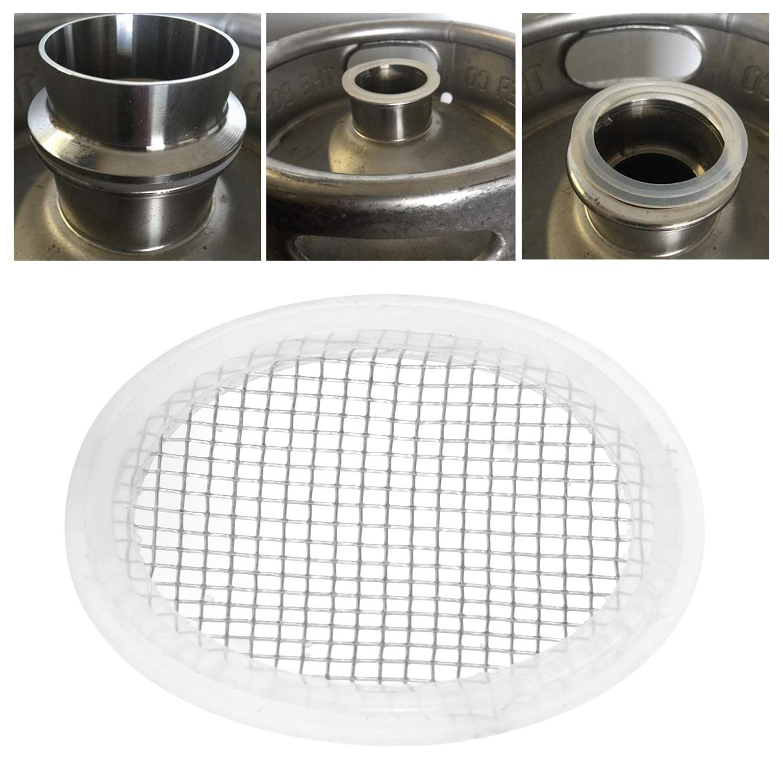 "2/"" Tri-Clamp Gasket Stainless Mesh Screen Distilling Carbon Filter Gin Basket US"
