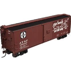 Atlas 20003370 HO Santa Fe USRA Steel Rebuilt Boxcar