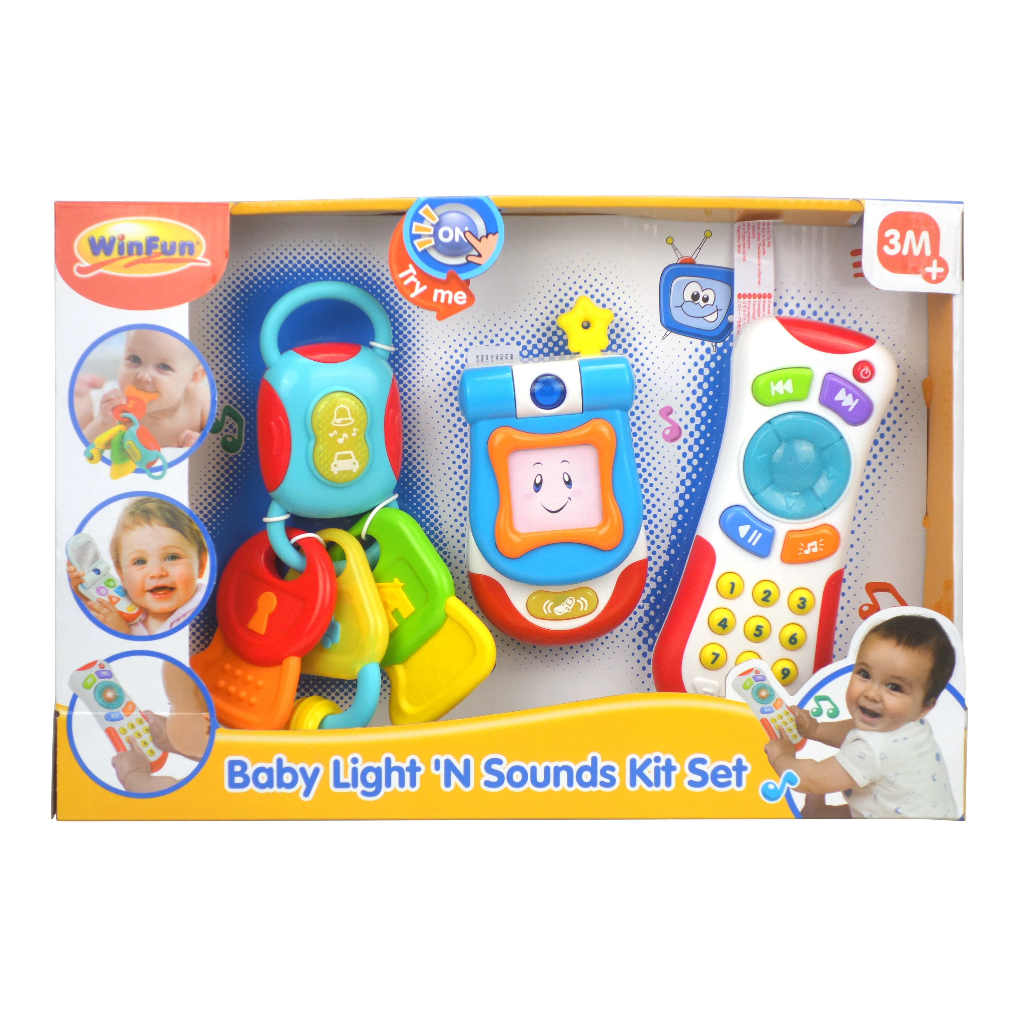 Light 'N Sounds Remote Control and Keys