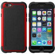 Ballistic Tough Jacket for Apple iPhone 6, Black/Red