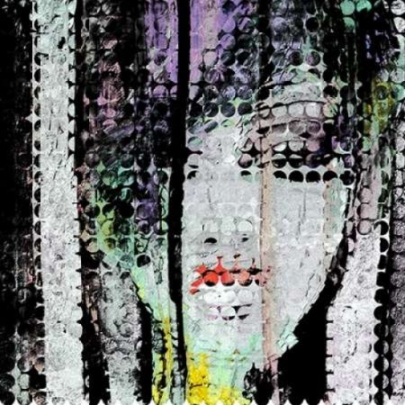 Abstract Colorful Woman Face Poster Print by Atelier B Art Studio (12 x 12)