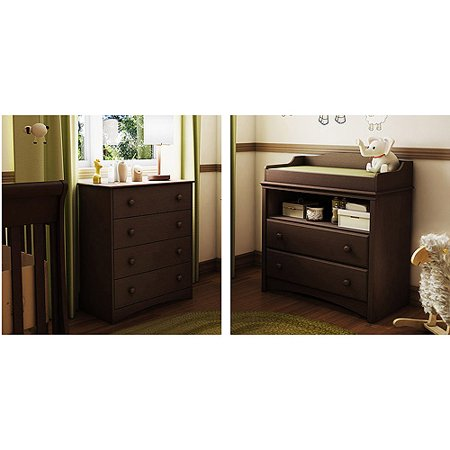 South Shore Angel Collection Changing Table And 4 Drawer