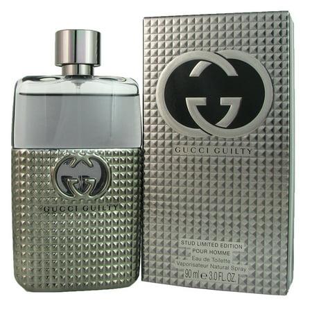 Gucci Guilty Stud Limited Edition Pour Homme Eau de Toilette Spray, 3 Oz