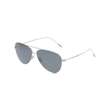 5b26386b0132 Giorgio Armani - Giorgio Armani Men's AR6049-30156G-58 Silver Aviator  Sunglasses - Walmart.com