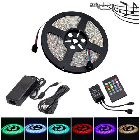 LEHOU Music LED Strip Lights, IP65 Waterproof 5050 SMD