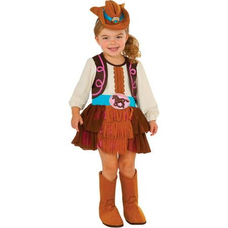 Cowgirl Child Halloween Costume