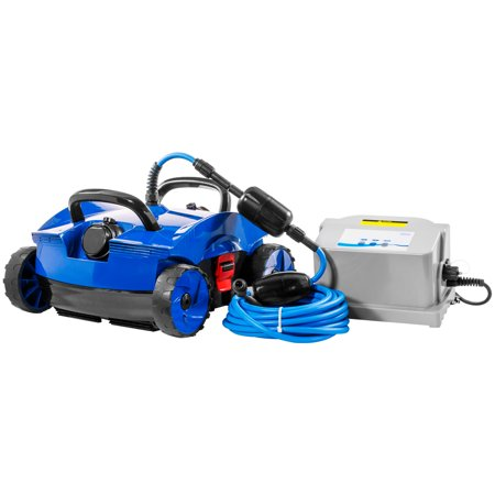 XtremepowerUS Robotic Above In-Ground Pool Vacuum Cleaner Pool Robot Cleaner Floor Automatic Pool Vacuums