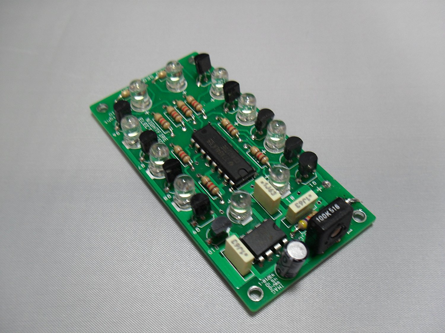 Built & Tested NightFire LED Chaser WHITE, LED Chaser   Sequencer By NightFire Electronics by