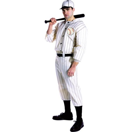 Morris Costumes Mens Old Tyme Baseball Player Halloween Costume, Style, GC7169 - Mens Baseball Halloween Costumes