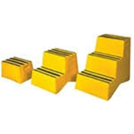 Vestil Vst 3 Y Yellow 3 Step Polyethylene Step Stool