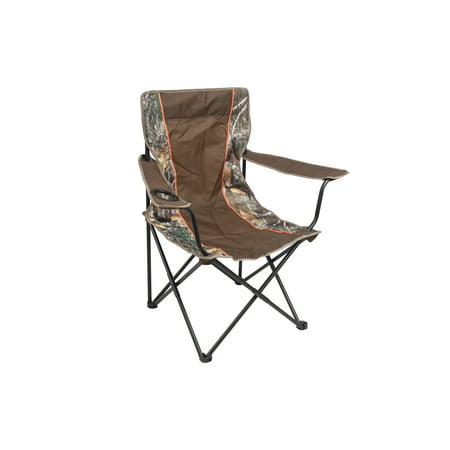 Realtree Edge Lightweight Basic Camo Chair with Cup Holder,