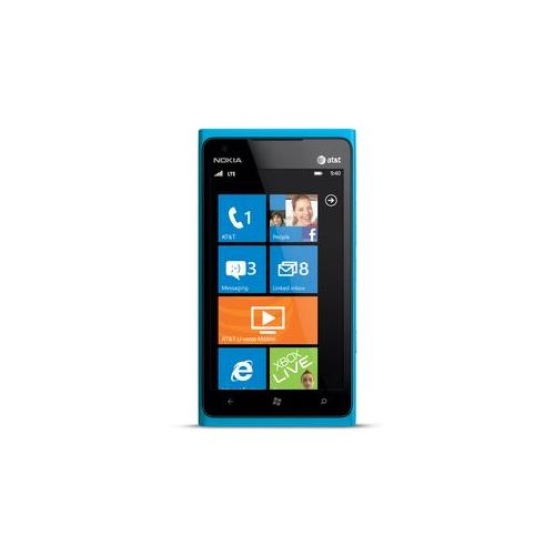 The Nokia Lumia 900 smartphone features a large and vibra...