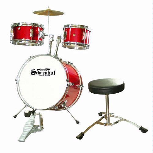 Schoenhut C1020 5 Piece Drum Set - Red