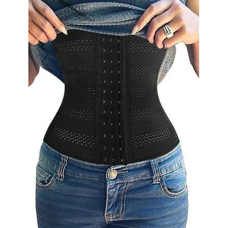 SAYFUT Womens Ultra Firm Control Shapewear Waist Trainer Body Shaper Underbust Corset Cincher Tummy Slimmer Nipper Girdle