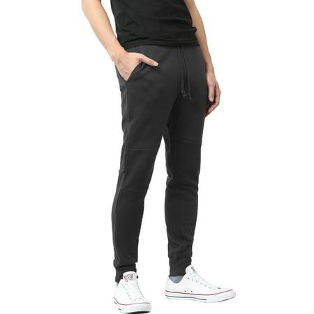 Ma Croix Men's Premium Slim Fit Casual Sweatpant Jogger