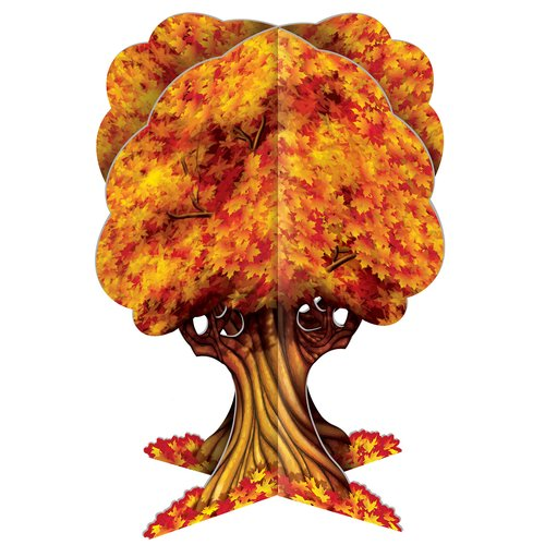 The Holiday Aisle Fall/Thanksgiving 3-D Fall Tree Centerpiece