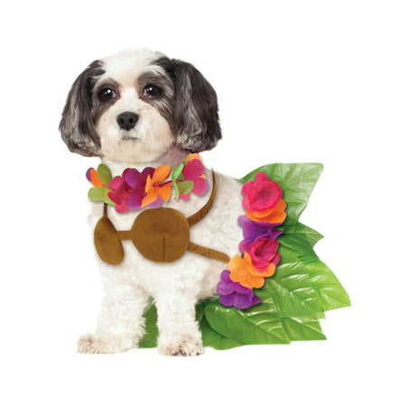 Halloween Hula Girl Pet Costume (Boutique Costumes)