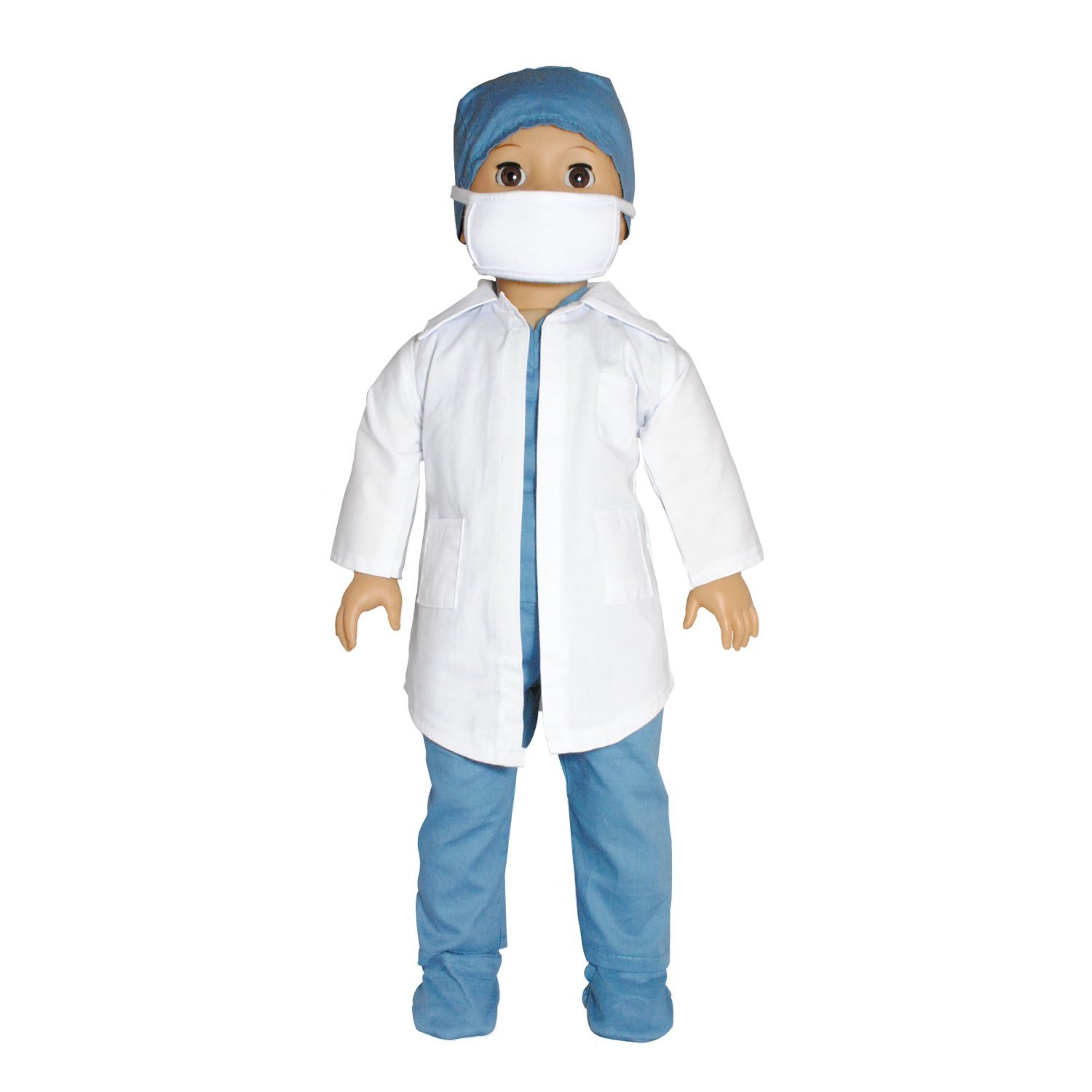 Doll Clothes Doctor   Nurse Outfit Fits American Girl & Other 18 Inch Dolls by Pink Butterfly Closet