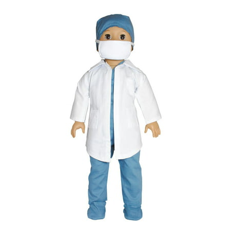 Doll Clothes - Doctor / Nurse Outfit Fits American Girl & Other 18 Inch Dolls