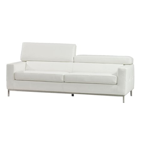 Swell Bellini Modern Living Alison Sofa White Walmart Com Andrewgaddart Wooden Chair Designs For Living Room Andrewgaddartcom
