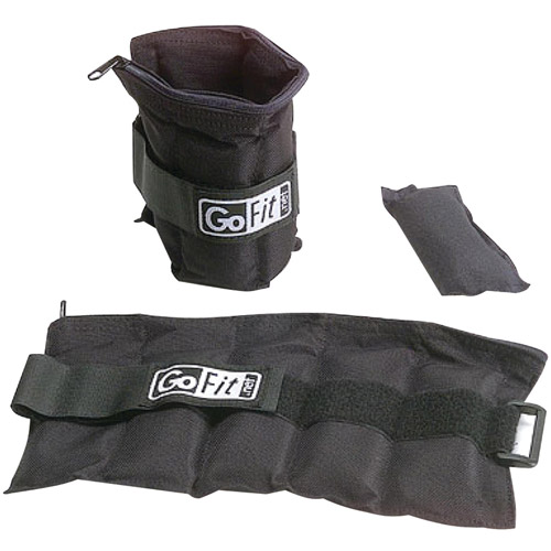 GoFit Adjustable 10-lb Ankle Weights