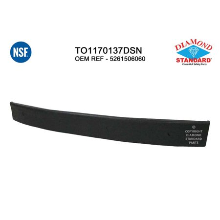 Rear Bumper Energy Absorber - NSF TO1170137 Rear Bumper Energy Absorber for 12-14 Toyota Camry