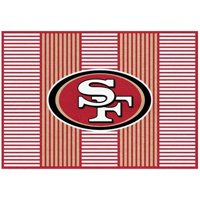 San Francisco 49ers Imperial 6' x 8' Champion Rug