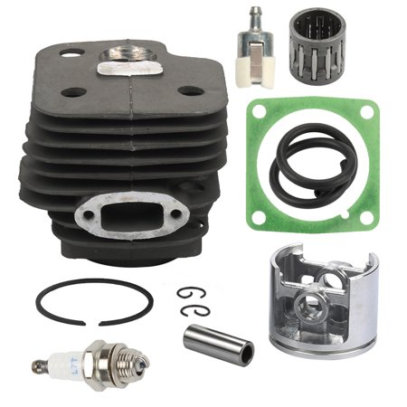 HIPA 52MM Cylinder Piston Pin Kit For Husqvarna 61 268 272 272K 272XP Chainsaw Cylinder Fuel line Fuel filter