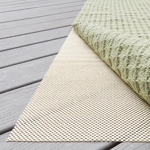 Alexander Home Outdoor Non-slip Beige Rug Pad (4' x 6') by Overstock