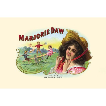 See Saw Margery Daw is a popular English language nursery rhyme folksong and playground singing game The rhyme first appeared in its modern form in Mother Gooses Melody published in London in around 1