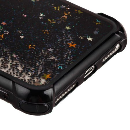 49853b6622 iPhone 8 Plus Case, iPhone 7 Plus Case, by Insten Quicksand Glitter Dual  Layer Hybrid Hard Snap-in Case Cover For Apple iPhone 8 Plus / 7 Plus / 6s  Plus / 6 ...