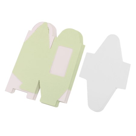 Birthday Wedding Gift Paper Cake Candy Cookie Box Cupcake Case Green 5pcs