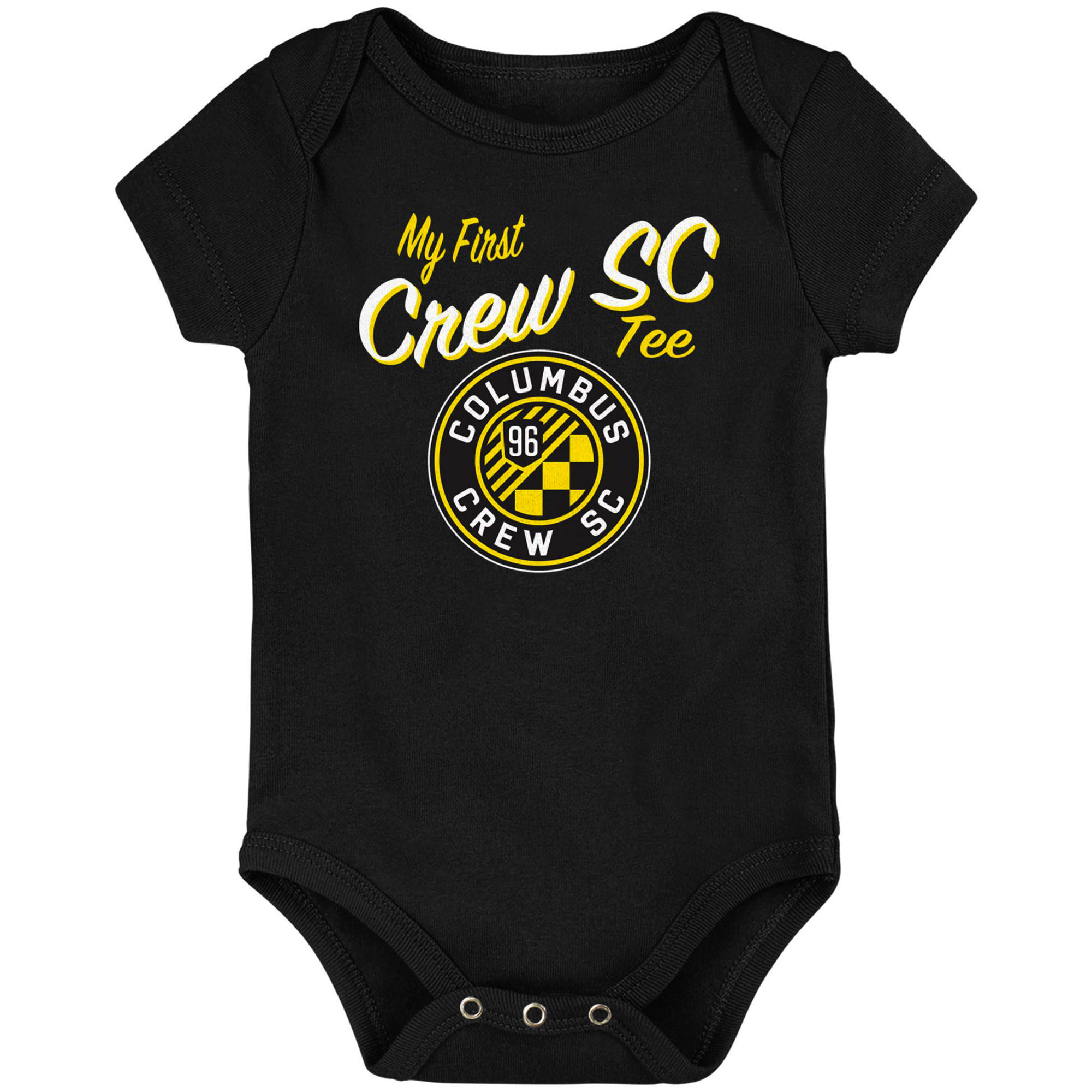 Columbus Crew SC Newborn & Infant My New First Bodysuit - Black