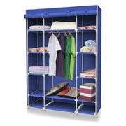 Sunbeam Non-Woven Free-Standing Storage Closet, Navy Blue