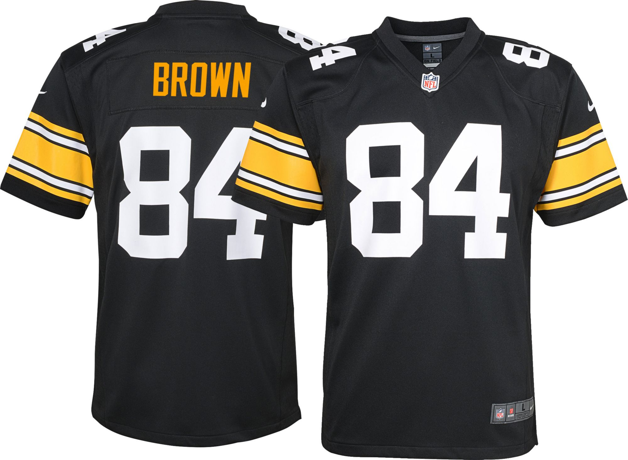 Nike Youth Alternate Game Jersey Pittsburgh Steelers Antonio Brown  84 -  Walmart.com 80b3cc241