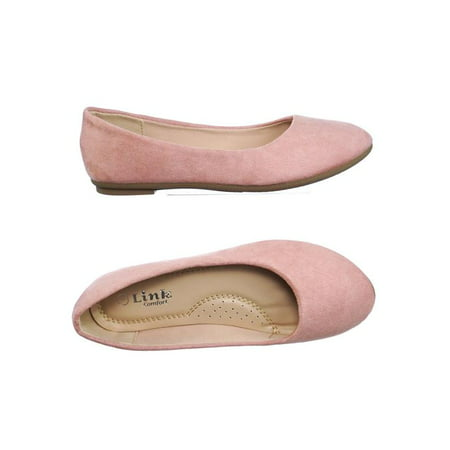 fea6d92ca Forever Link - Flexible by Forever Link, Girl Children Comfy Foam Pad  Ballet Ballerina Round Toe Flat - Walmart.com