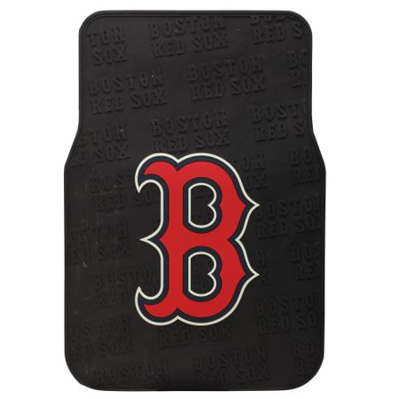 Boston Red Sox Two Piece Front Car Mats - No - Sox Car