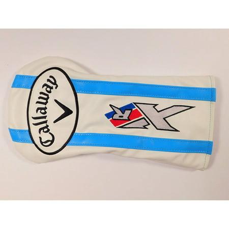 Callaway X Fairway Woods (Callaway XR 2016 Ladies Fairway Wood Headcover (Lt. Blue/White) XR16 Golf)