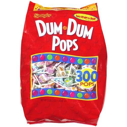 Spangler Dum Dum Pops, 300ct