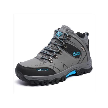 Mens Trail Hiking Boots Waterproof Athletic Outdoors Safety Sports Running Shoes