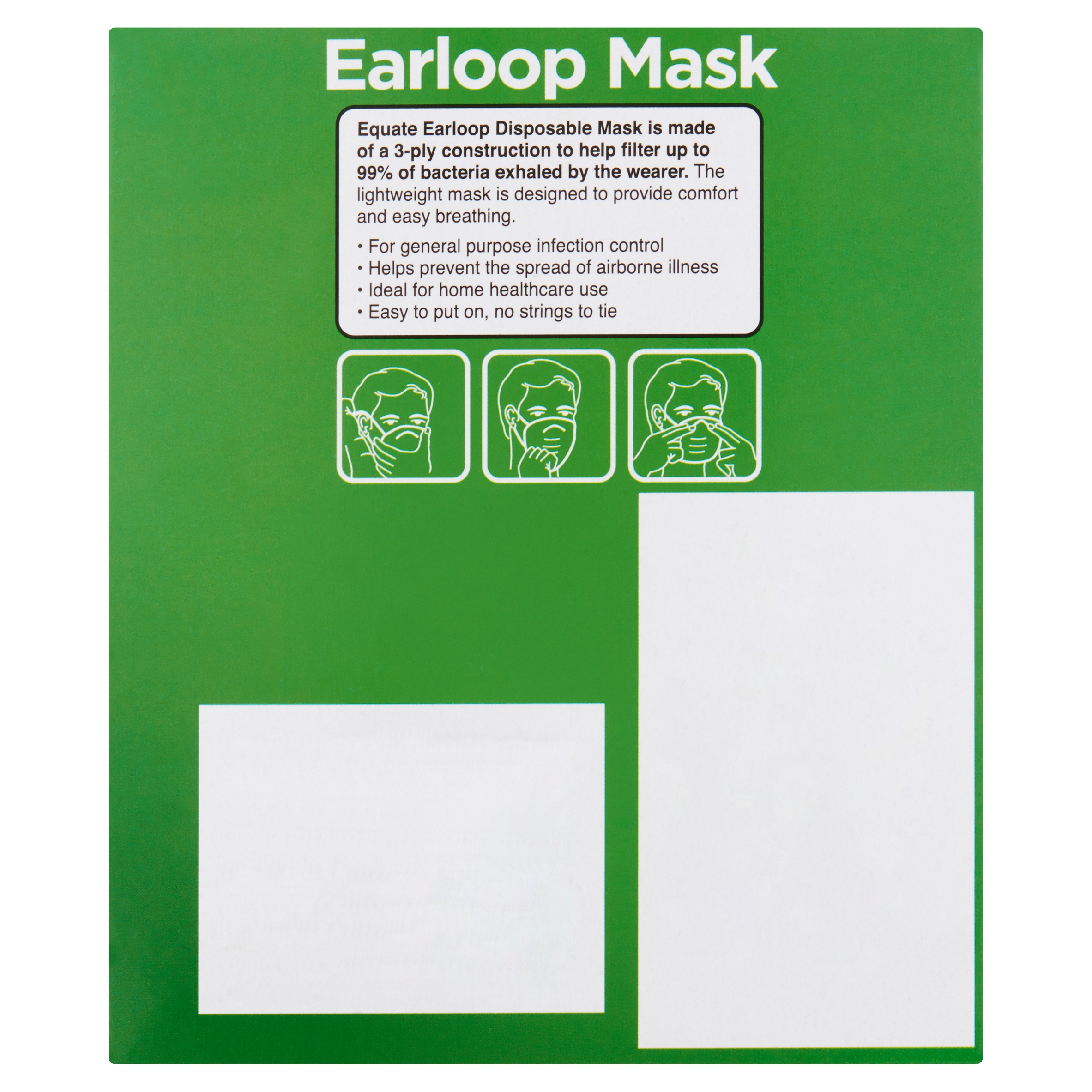 earloop mask disposable