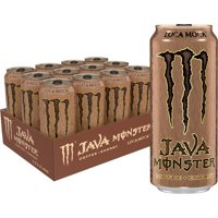 Java Monster Loca Moca, Coffee + Energy Drink, 15 Fl Oz Cans (12-Pack)
