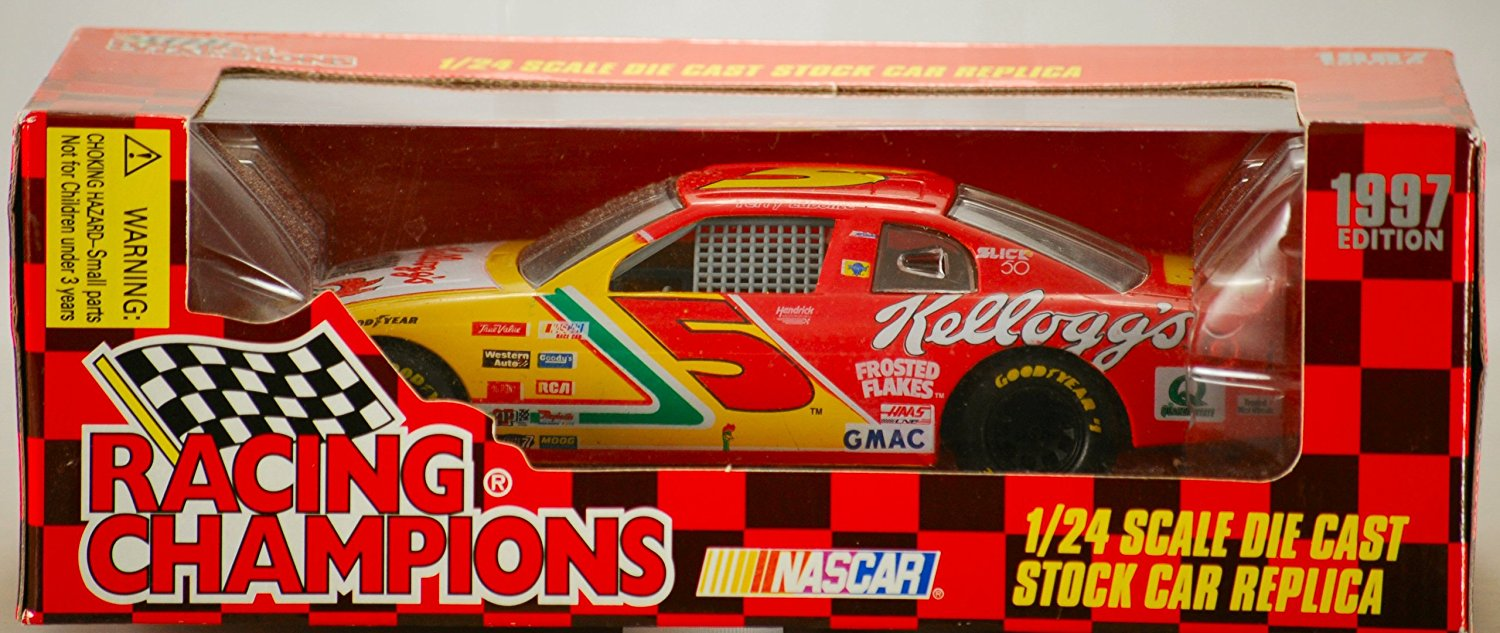 1997 Racing Champions   Terry Labonte #5 Kellogg's Corn Flakes Chevrolet Monte Carlo 1:24... by